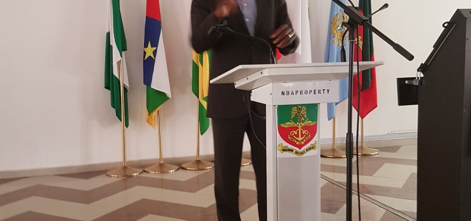 My Talk in the Nigerian Defence Academy Kaduna (Photo)