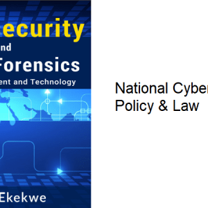 16.2 – National Cybersecurity Policy & Law