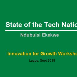 State of the Tech Nation – an Address by Ndubuisi Ekekwe