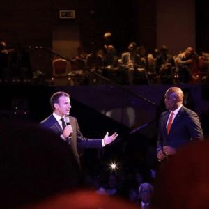 Watch French President Macron – Tony Elumelu Interactive Forum