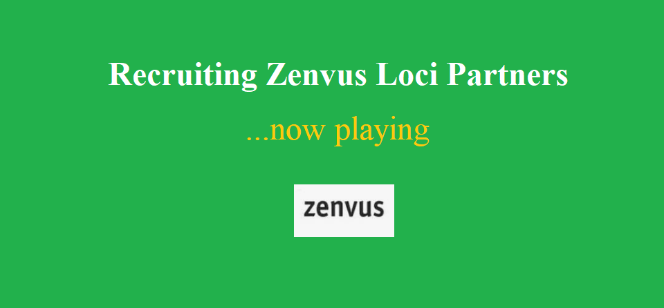 Zenvus Loci Partners Are Responding GREATLY – Thank You