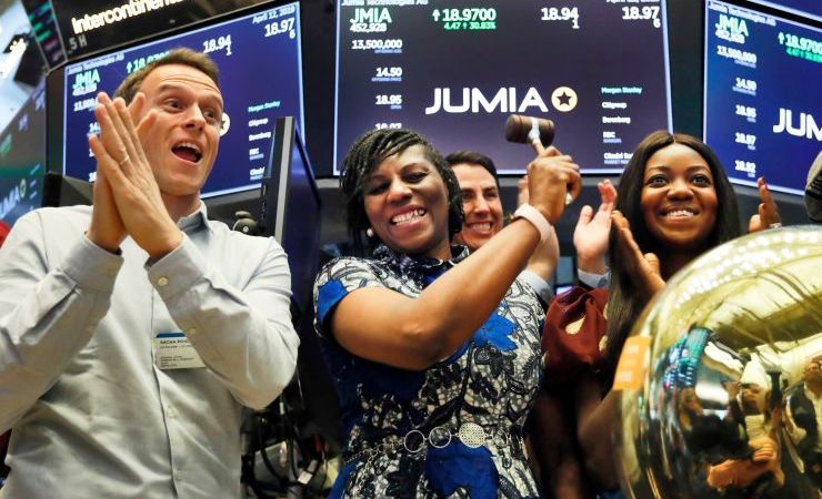 Jumia Surged 75%, Hits $3.9 Billion Cap on First Trading Day on NYSE