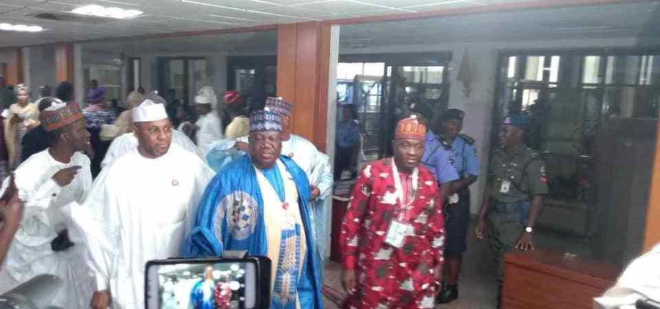 Yobe Senator, Ahmed Lawan, is Nigeria's Senate President; Ovie Omo-Agege is Deputy