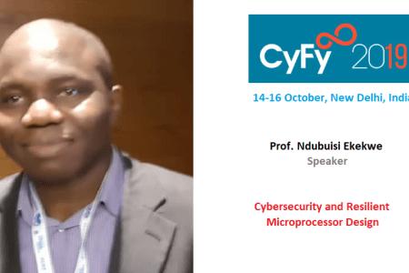 Ndubuisi Ekekwe To Speak in India's CyFy Technology Conference