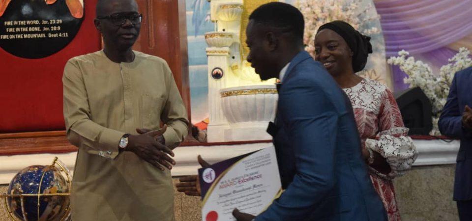 Meet Akinyemi Olasunkanmi, A First Class Graduate with a Class