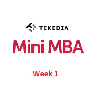 Week 1 Session -Tekedia Mini MBA