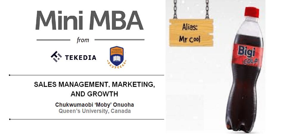 Sales Management, Marketing & Growth [Video]