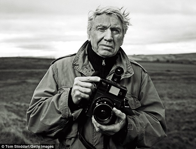 Don McCullin photo by Tom Stoddart