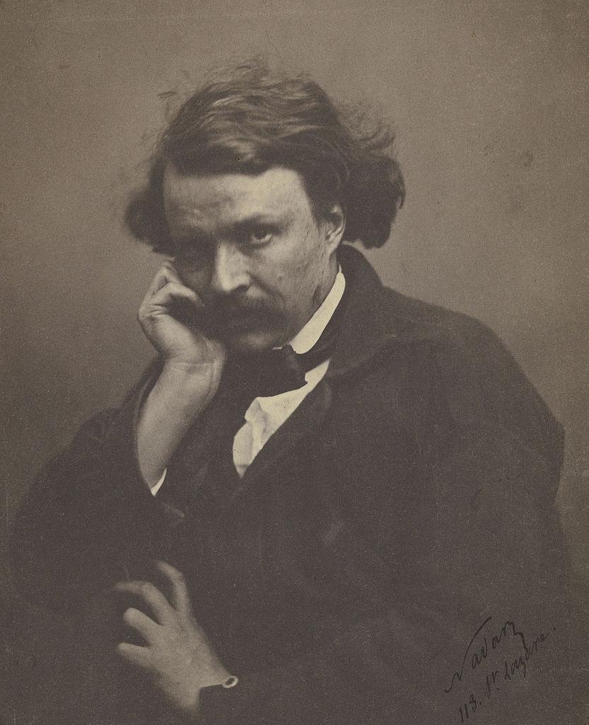 Félix_Nadar self-portrait(circa 1855)