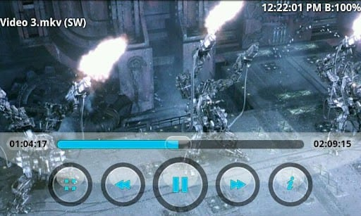Players de vídeo para Android