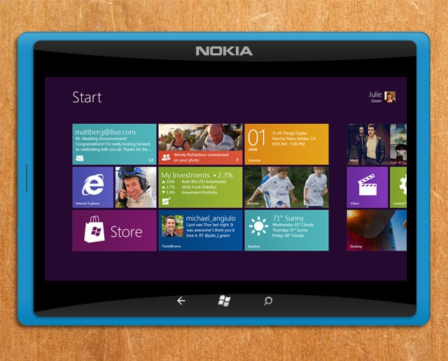 Tablet nokia windows 8