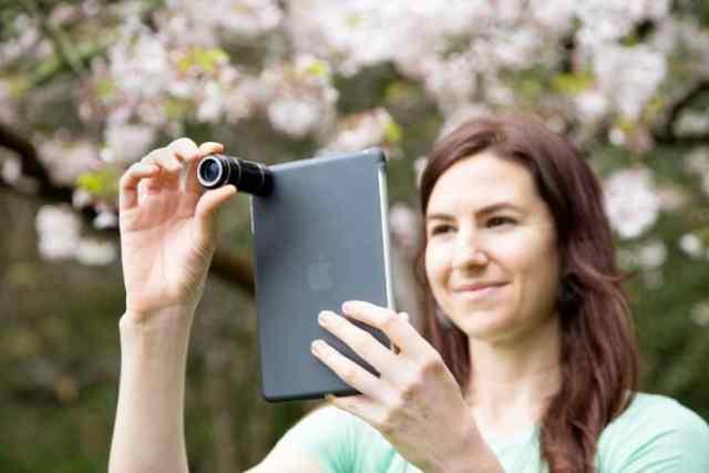 lentes para tablet