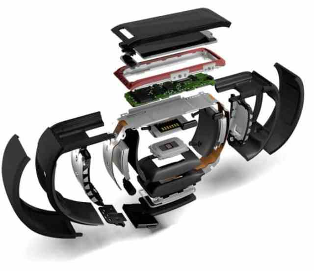 microsoft band por dentro