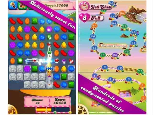 Candy Crush para Windows Phone