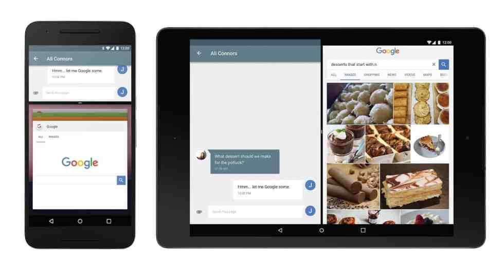 Android 7.0 possui modo multi janela