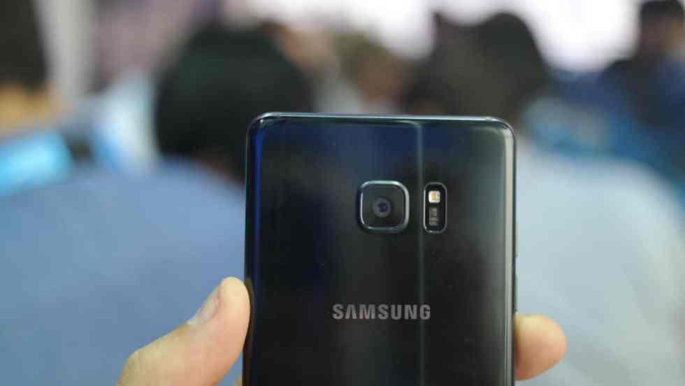 Câmera Galaxy Note 7