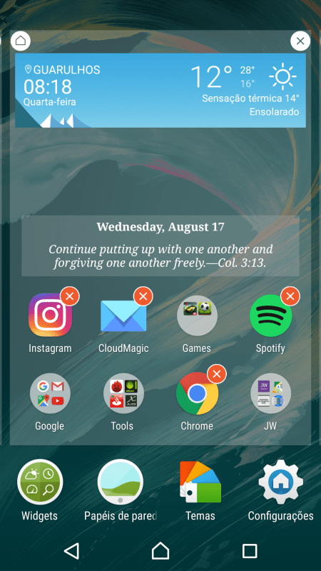 Review Xperia X software