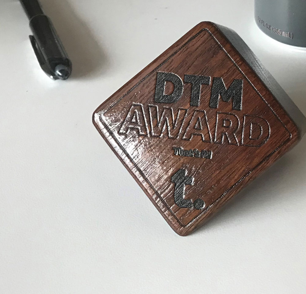 Design Team Meetings - DTM Award