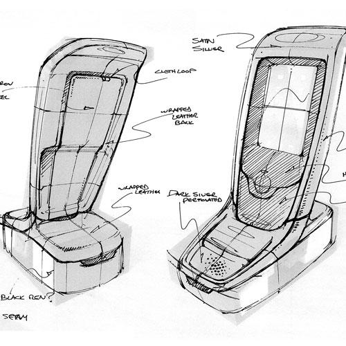 Automotive Center Final sketches