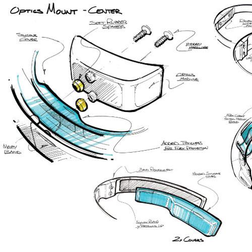Avegant optics mount - center