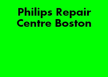 Philips Repair Centre Boston