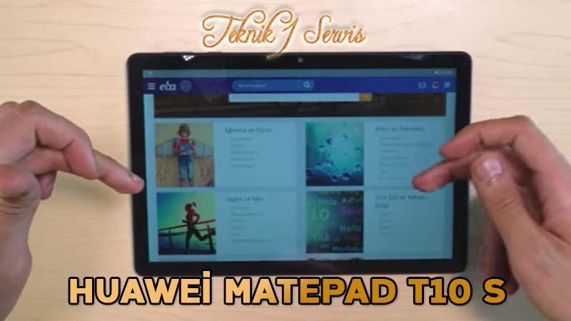 Huawei MatePad T10 S Tablet yetkili servis