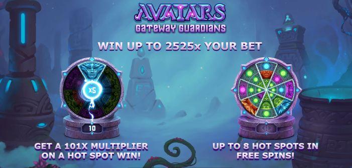 Avatar gateway guardians slot