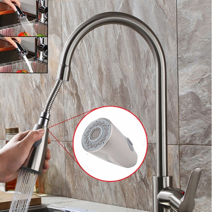 replacement sprayer head for kitchen bathroom sink pull down pull out faucet tap