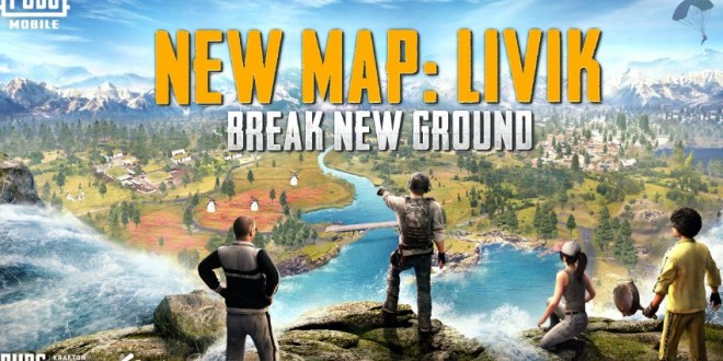 New Map Livik Break New Ground