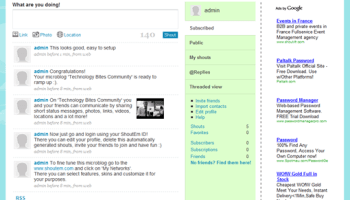 Shoutem: Create your own twitter