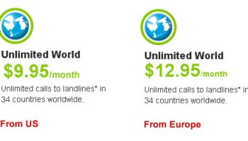 Unlimited World Calls