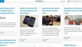 Multiplx Google Reader Alternative