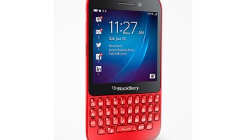 BlackBerry Q5 launched in India
