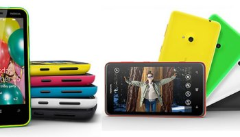 Compare Nokia Lumia 620 vs Nokia Lumia 625