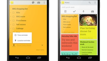 Google Keep for Android Updated