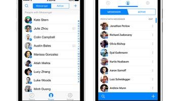 Facebook Messenger Updated
