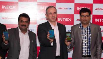 Intex Octa Core Smartphone unveilded