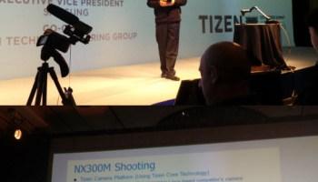 Samsung Tizen Camera NX300M