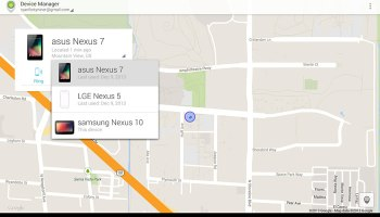 Android Device Manager App now available from Play Store