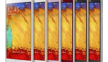 New Color Options for Galaxy Note 3 announced