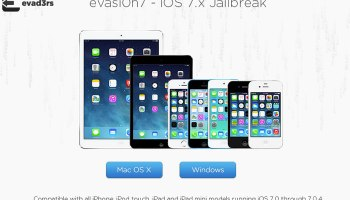 Evasi0n7 available for iOS7