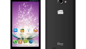 Micromax and MTS launched Canvas Blaze