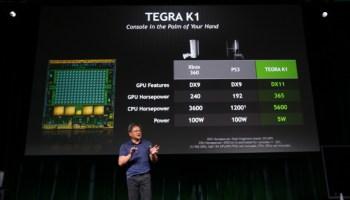 Nvidia Tegra K1 announced