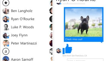 Facebook Messenger for Windows phone released
