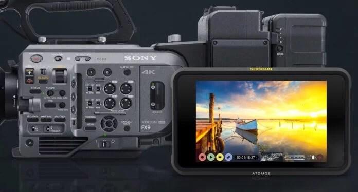 Sony Sonunda Full Frame Camera FX9'un RAW Kayıt Ayrıntılarını Duyurdu