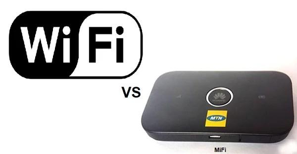 MiFi ve WiFi