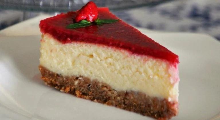 Cheese Cake Tarifi Frambuazlı
