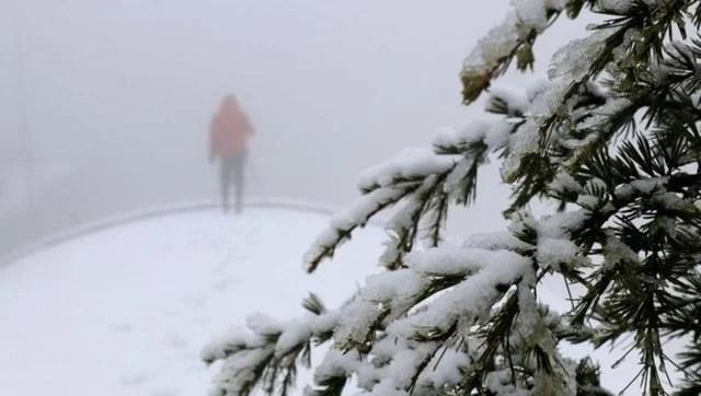 Kar yağışı İstanbul'a geri dönüyor 2021