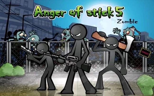 Anger of Stick 5 Apk Mod 1.1.43 İndir (Hileli Sınırsız Para)