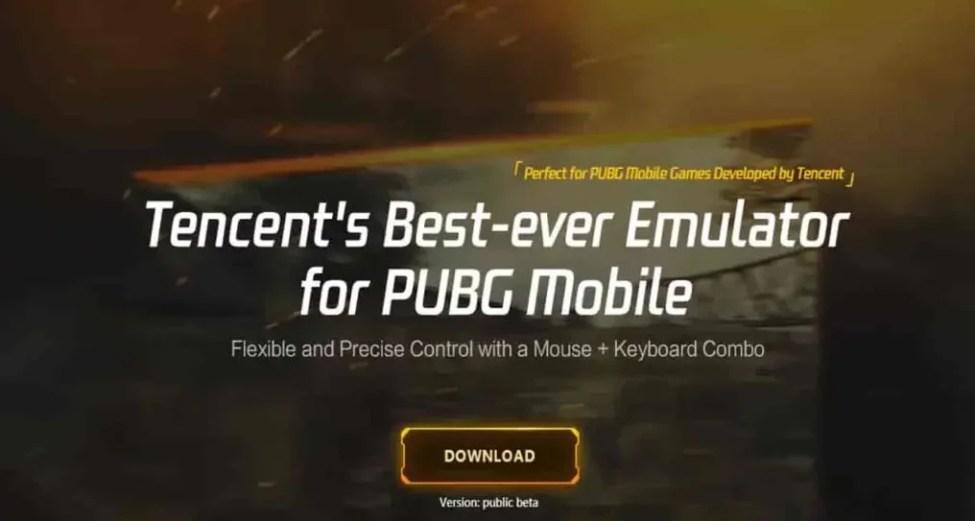 PUBG Mobile Pc İndirme